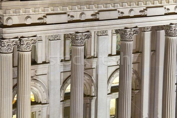 колонн здании Сток-фото © benkrut