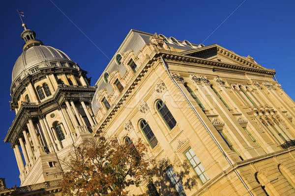 State Capitol Building in Springfield Stock photo © benkrut