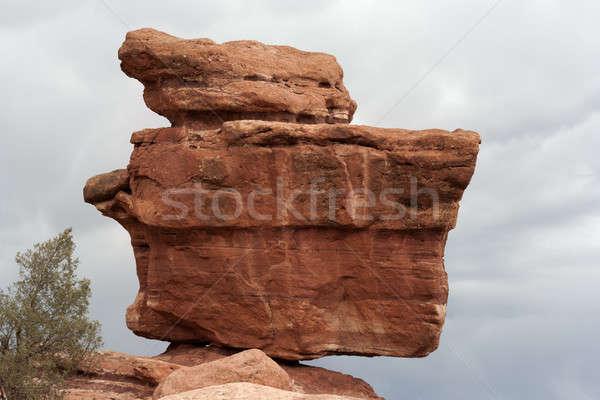 Balanced Rock in Colorado Springs Stock photo © benkrut