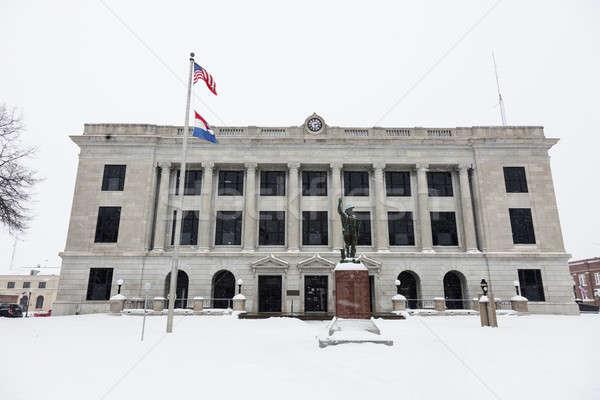 Pettis County Courthouse in Sedalia Stock photo © benkrut