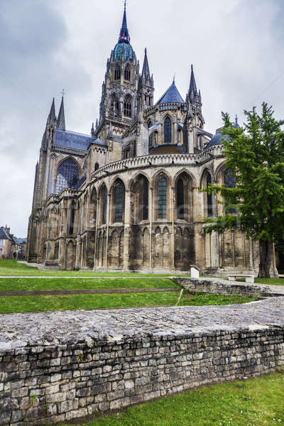 Bayeux Notre-Dame Cathedral Stock photo © benkrut