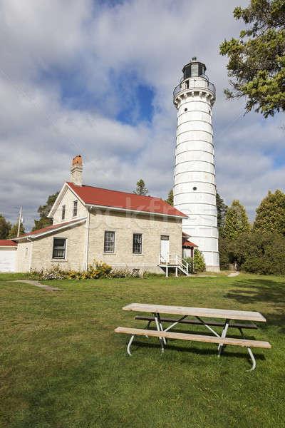 Cana Island Lighthouse   Stock photo © benkrut