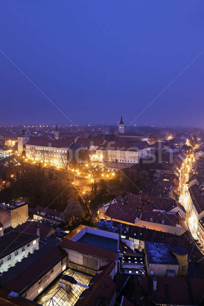 Old town of Zagreb  Stock photo © benkrut