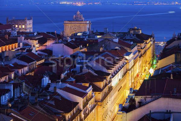 Architektur lissabon portugal stadt reise nacht for Architektur lissabon