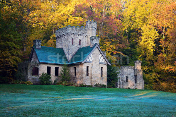 Squire's Castle in Willoughby Hills  Stock photo © benkrut