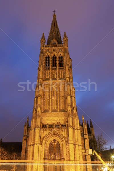Saint Martin's Church in Ypres Stock photo © benkrut