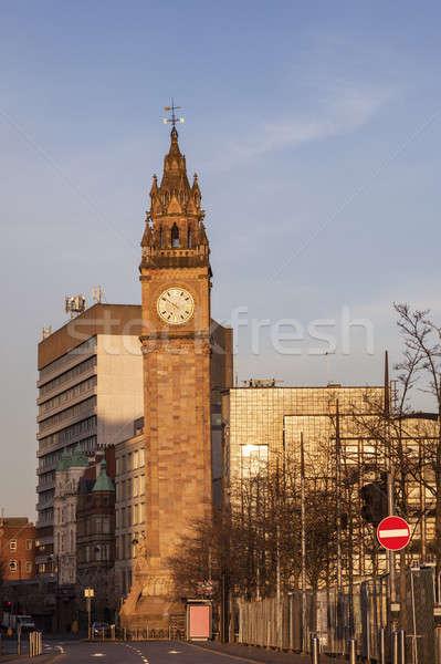 Peace Tower in Belfast Stock photo © benkrut