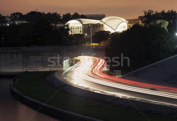 Evening traffic in Washington Stock photo © benkrut