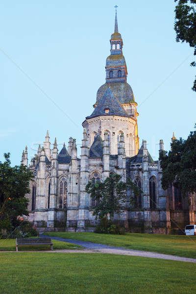 St. Sauveur Church in Dinan Stock photo © benkrut