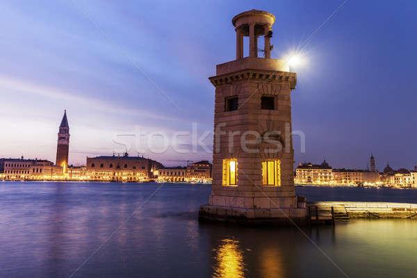 Lighthouse in Venice Stock photo © benkrut