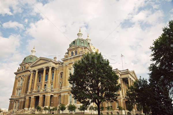 Айова здании вход синий архитектура власти Сток-фото © benkrut