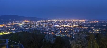 Panorama of Linz Stock photo © benkrut
