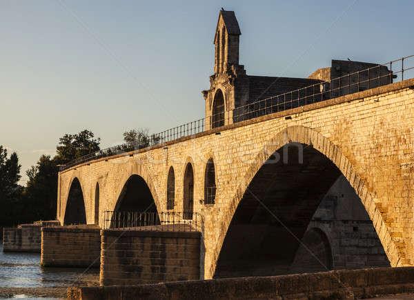 Architecture of Avignon. Avignon, Provence-Alpes-Cote d'Azur, Fr Stock photo © benkrut