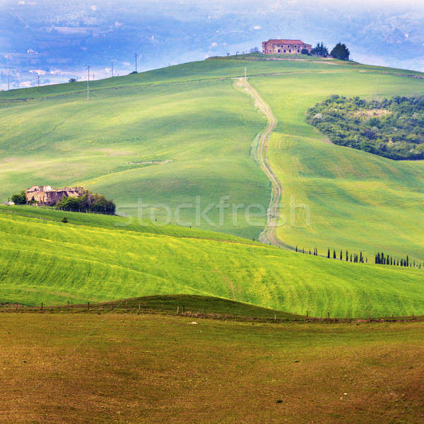 Incroyable Toscane paysage Italie Europe nature Photo stock © benkrut