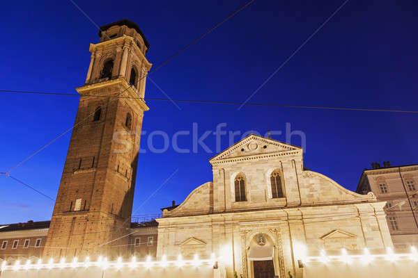 San Giovanni Battista Church - Turin Cathedral Stock photo © benkrut