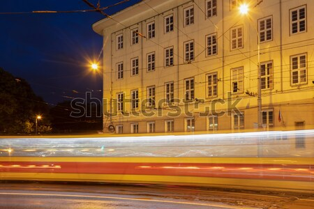 Traffic by Presidential Palace Stock photo © benkrut