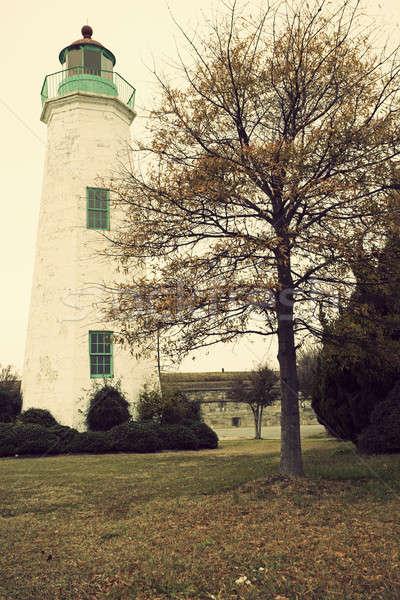 Old Point Comfort Lighthouse Stock photo © benkrut