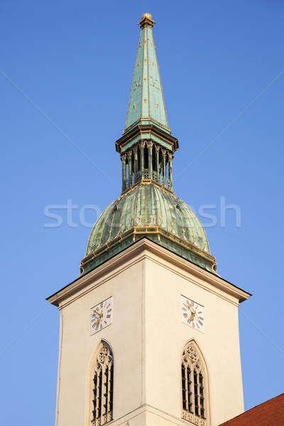 St. Martin's Cathedral in Bratislava Stock photo © benkrut