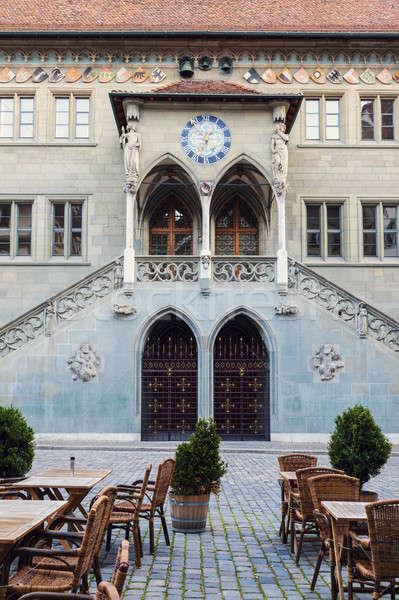 Rathaus in Bern Stock photo © benkrut