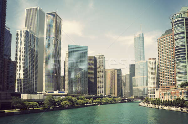 Chicago River Stock photo © benkrut