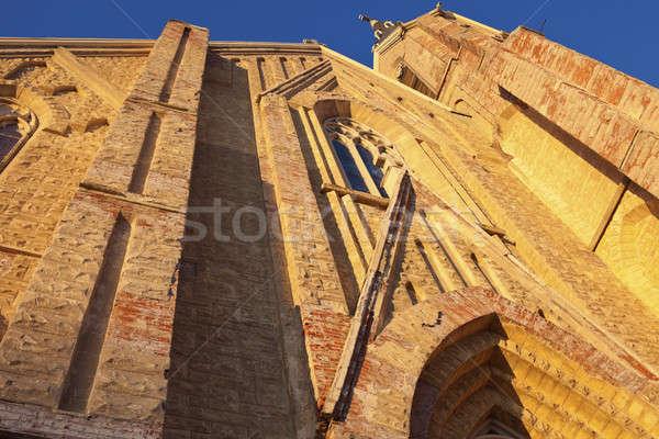 Церкви Оттава Иллинойс кирпичных архитектура религии Сток-фото © benkrut