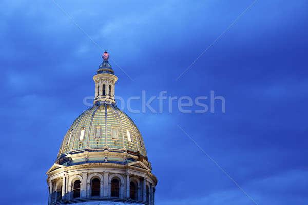 Kupola épület Colorado égbolt építészet erő Stock fotó © benkrut