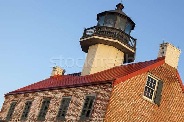 Nokta deniz feneri New Jersey ABD Stok fotoğraf © benkrut