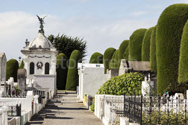 Cemetery of Punta Arenas Stock photo © benkrut
