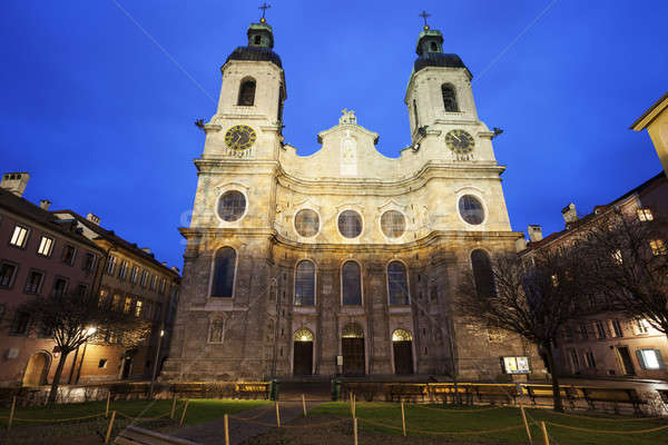 St. Jacob's Cathedral in Innsbruck  Stock photo © benkrut