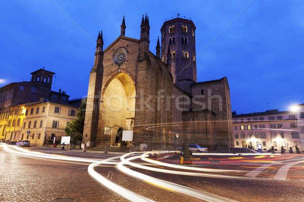 Basilica di Sant'Antonino in Piacenza Stock photo © benkrut