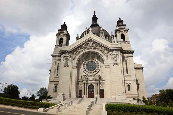Katedral Minnesota ABD Stok fotoğraf © benkrut