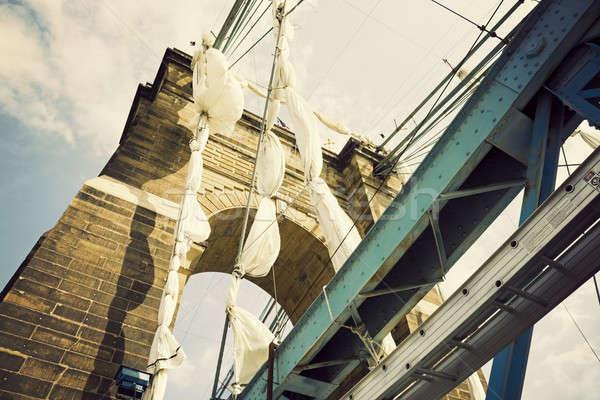 Historic bridge in Cincinnati Stock photo © benkrut
