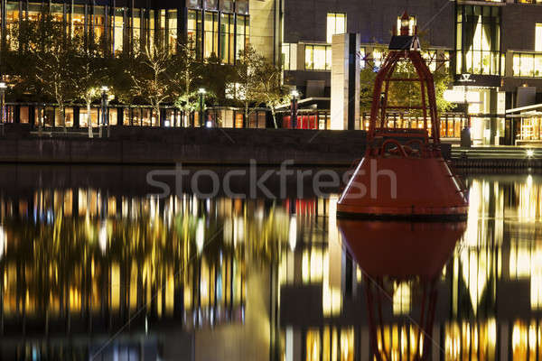 Маяк реке центра Мельбурн Австралия Сток-фото © benkrut
