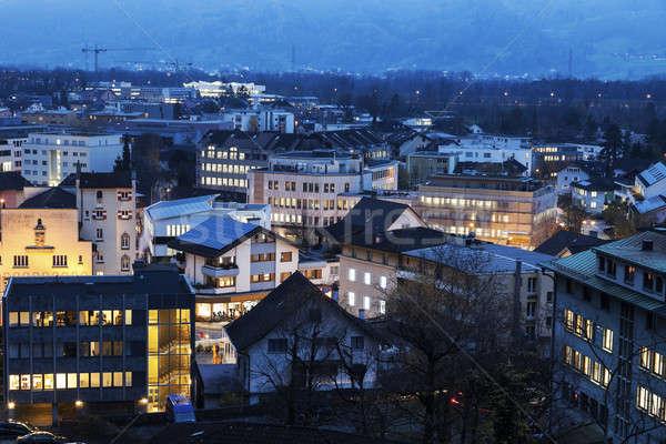 Vaduz, Liechtenstein Stock photo © benkrut