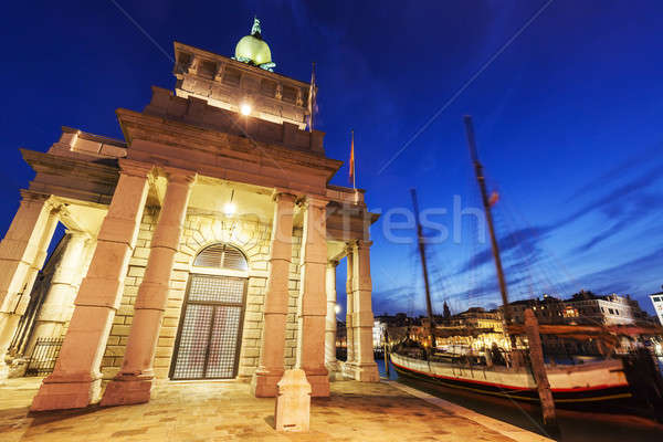 Punta della Dogana in Venice Stock photo © benkrut