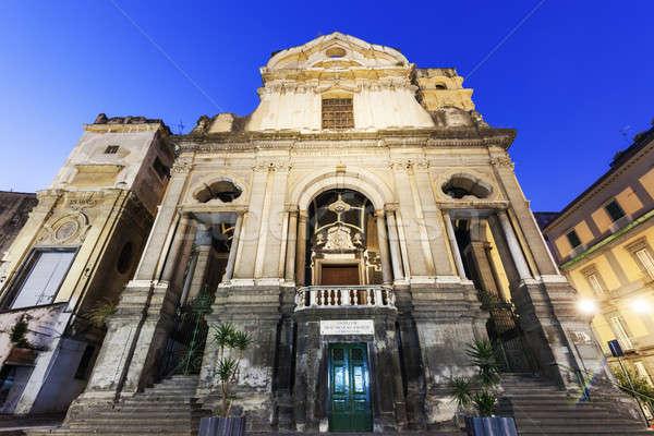 San Giuseppe dei Ruffi Church in Naples Stock photo © benkrut