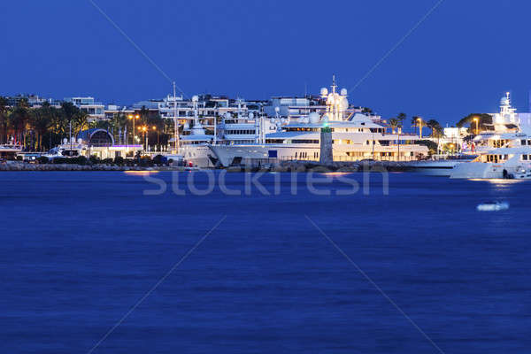 Evening in Cannes Stock photo © benkrut