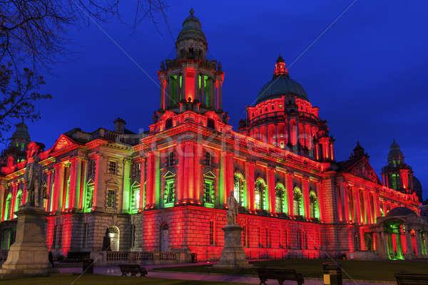 Belfast città sala settentrionale Irlanda Foto d'archivio © benkrut