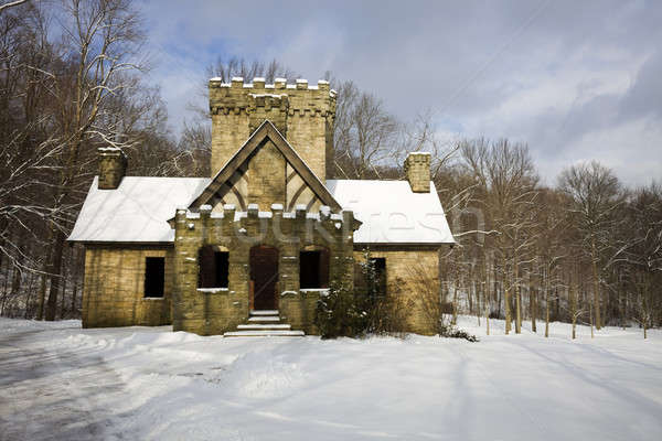 Squire's Castle in Cleveland area  Stock photo © benkrut