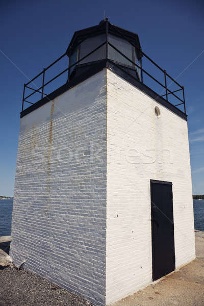 Derby Wharf Lighthouse Stock photo © benkrut