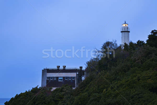 Lighthouse in Genoa Stock photo © benkrut
