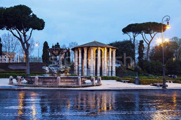Bocca della Verita Fountain Stock photo © benkrut