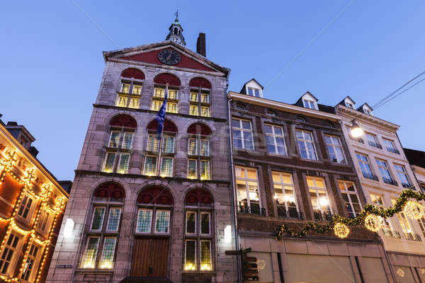 Dinghuis - Old courthouse in Maastricht Stock photo © benkrut