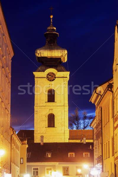 Convent in Ceske Budejovice Stock photo © benkrut