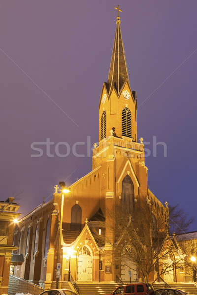 St. Peter's Church in Jefferson City, Missouri Stock photo © benkrut