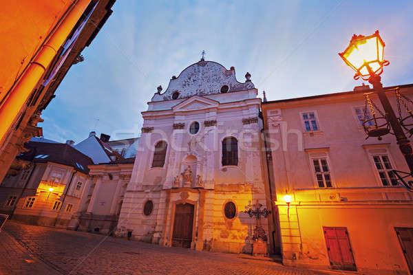 Franciscan Church in Bratislava Stock photo © benkrut