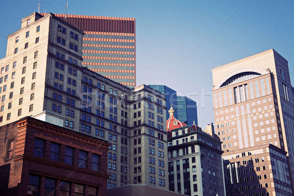 Stockfoto: Architectuur · centrum · Pennsylvania · USA · gebouw · reizen