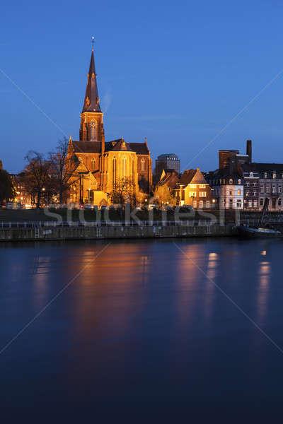 Sint Martinuskerk Church in Maastricht Stock photo © benkrut