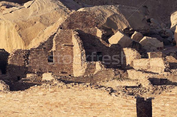 Chaco Culture ruins Stock photo © benkrut