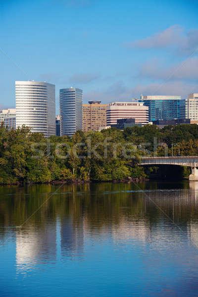 Downtown of Arlington Stock photo © benkrut